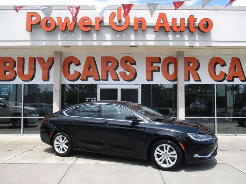 2016 Chrysler 200 for sale at Power On Auto LLC in Monroe NC