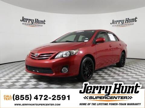 2013 Toyota Corolla for sale at Jerry Hunt Supercenter in Lexington NC
