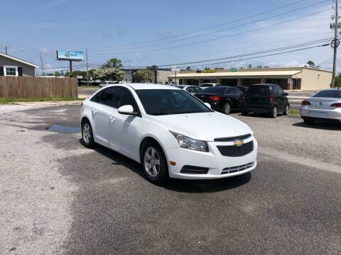 2014 Chevrolet Cruze for sale at Lucky Motors in Panama City FL