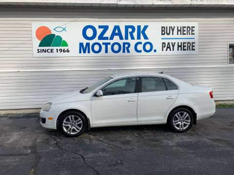 2007 Volkswagen Jetta for sale at OZARK MOTOR CO in Springfield MO
