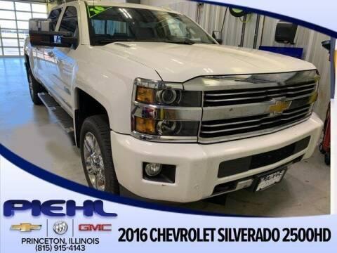 2016 Chevrolet Silverado 2500HD for sale at Piehl Motors - PIEHL Chevrolet Buick Cadillac in Princeton IL