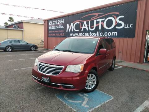 2014 Chrysler Town and Country for sale at MC Autos LLC in Pharr TX