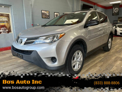 2015 Toyota RAV4 for sale at Bos Auto Inc in Quincy MA