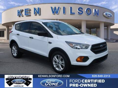 2019 Ford Escape for sale at Ken Wilson Ford in Canton NC