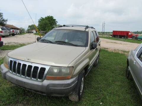 2000 Jeep Grand Cherokee for sale at Hill Top Sales in Brenham TX