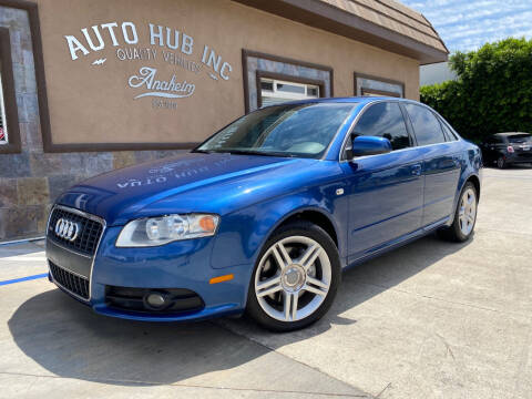 2008 Audi A4 for sale at Auto Hub, Inc. in Anaheim CA