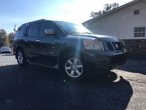 2009 Nissan Armada for sale at No Full Coverage Auto Sales in Austell GA