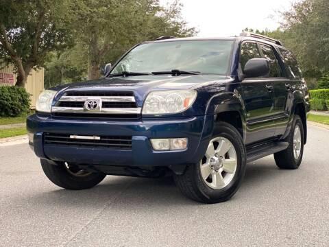 2005 Toyota 4Runner for sale at Presidents Cars LLC in Orlando FL