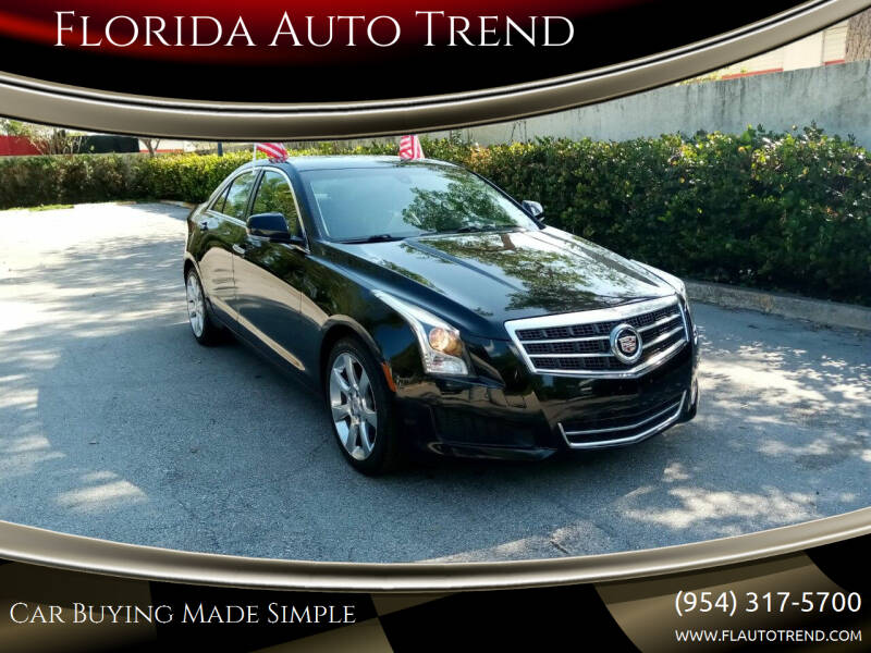 2013 Cadillac ATS for sale at Florida Auto Trend in Plantation FL