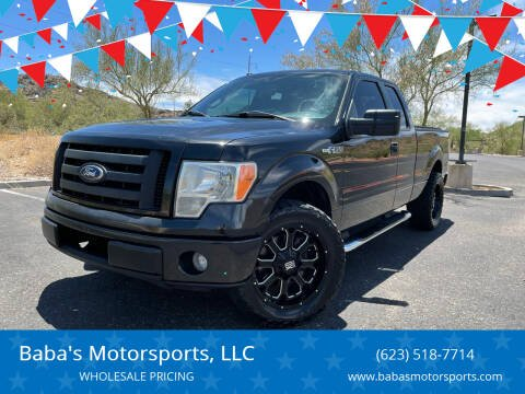 2010 Ford F-150 for sale at Baba's Motorsports, LLC in Phoenix AZ