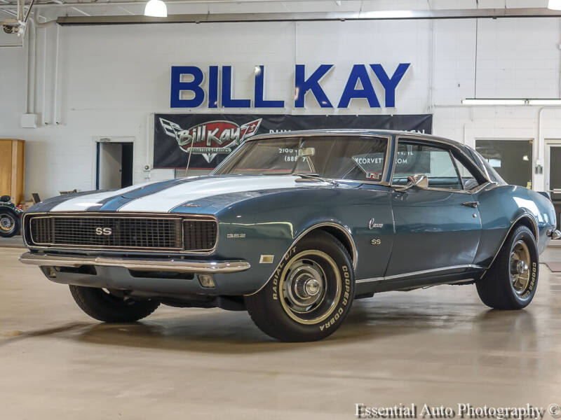 1968 Chevrolet Camaro for sale at Bill Kay Corvette's and Classic's in Downers Grove IL