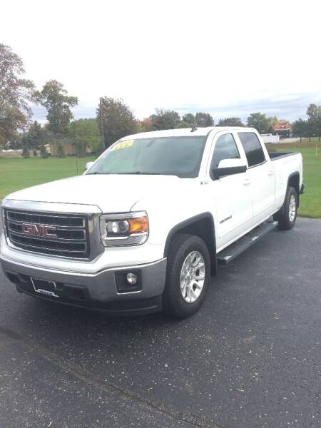 2014 GMC Sierra 1500 for sale at Hines Auto Sales in Marlette MI