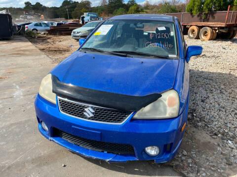 2006 Suzuki Aerio for sale at Encore Auto Parts & Recycling in Jefferson GA