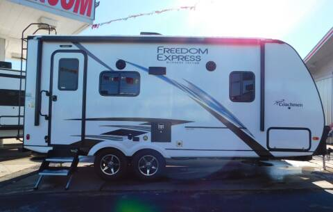 2021 Coachmen Freedom Express 192RBS for sale at Motorsports Unlimited in McAlester OK