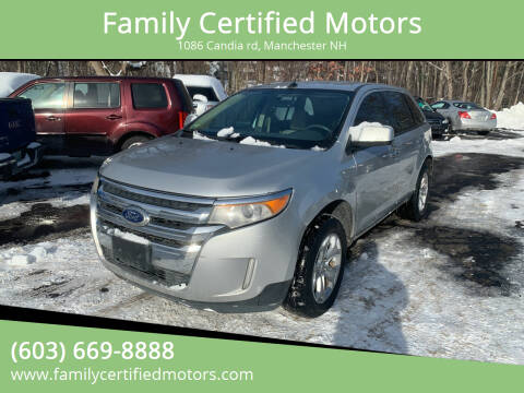 2011 Ford Edge for sale at Family Certified Motors in Manchester NH