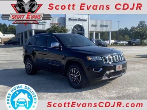 2018 Jeep Grand Cherokee for sale at SCOTT EVANS CHRYSLER DODGE in Carrollton GA
