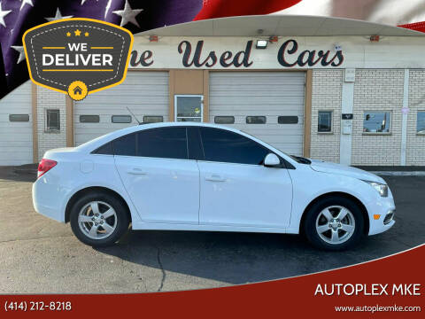 2015 Chevrolet Cruze for sale at Autoplex MKE in Milwaukee WI