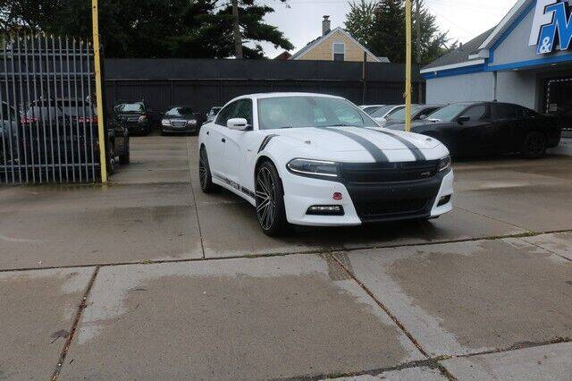 2015 Dodge Charger for sale at F & M AUTO SALES in Detroit MI