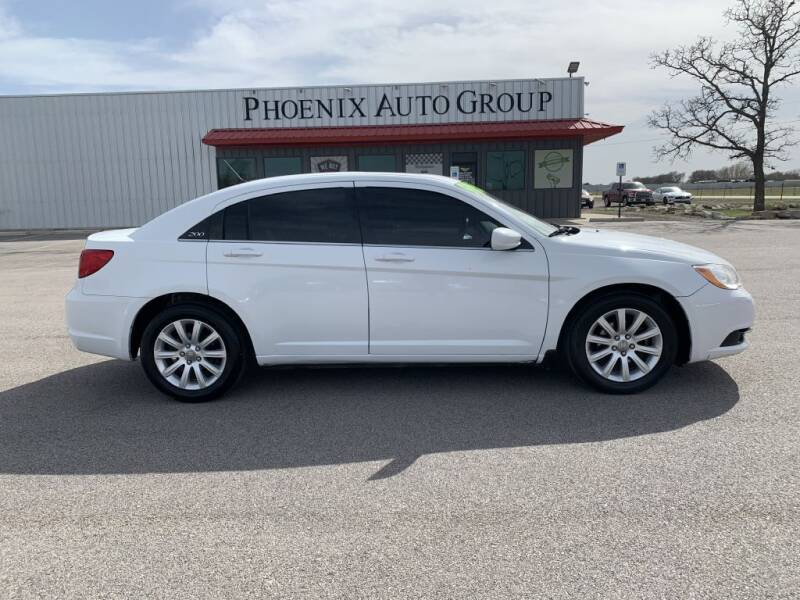 2013 Chrysler 200 for sale at PHOENIX AUTO GROUP in Belton TX