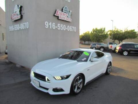 2016 Ford Mustang for sale at LIONS AUTO SALES in Sacramento CA