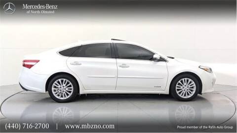 2015 Toyota Avalon Hybrid for sale at Mercedes-Benz of North Olmsted in North Olmsted OH