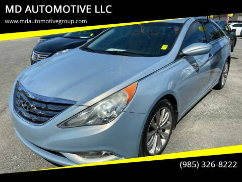 2011 Hyundai Sonata for sale at MD AUTOMOTIVE LLC in Slidell LA