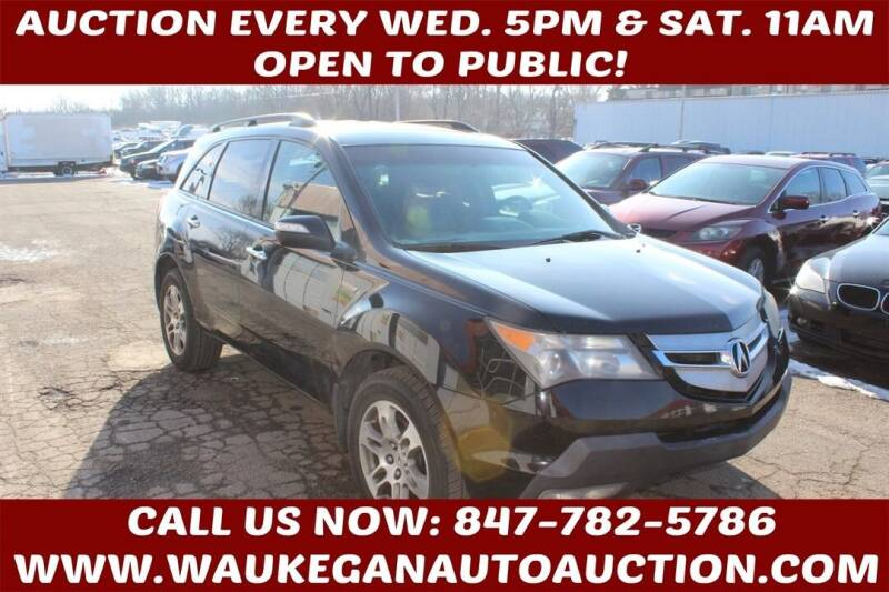 2008 Acura MDX for sale at Waukegan Auto Auction in Waukegan IL