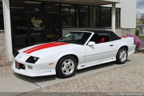 1992 Chevrolet Camaro for sale at Corvette Mike New England in Carver MA