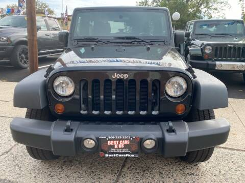 2012 Jeep Wrangler Unlimited for sale at Best Cars R Us in Plainfield NJ