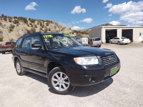 2006 Subaru Forester for sale at Canyon View Auto Sales in Cedar City UT