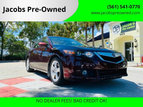 2009 Acura TSX for sale at Jacobs Pre-Owned in Lake Worth FL