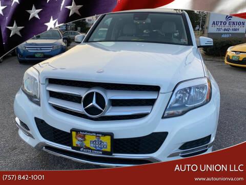 2014 Mercedes-Benz GLK for sale at Auto Union LLC in Virginia Beach VA