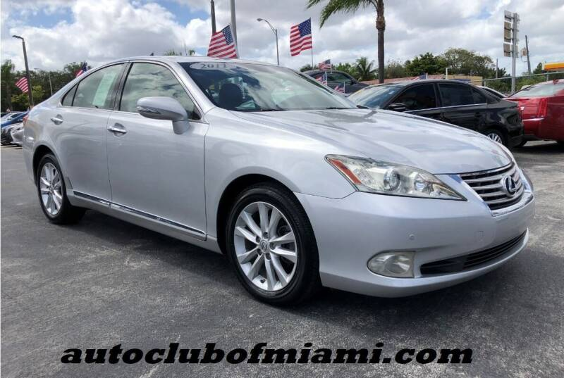 2011 Lexus ES 350 for sale in Miami, FL