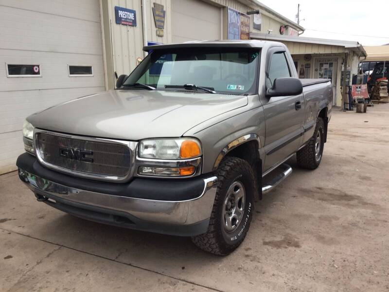 1999 GMC Sierra 1500 for sale at Troys Auto Sales in Dornsife PA