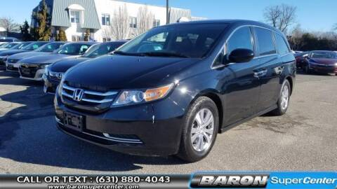 2015 Honda Odyssey for sale at Baron Super Center in Patchogue NY