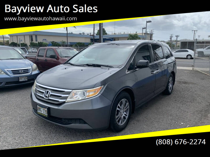 2011 Honda Odyssey for sale at Bayview Auto Sales in Waipahu HI