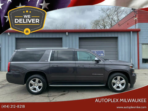 2015 Chevrolet Suburban for sale at Autoplex Milwaukee in Milwaukee WI