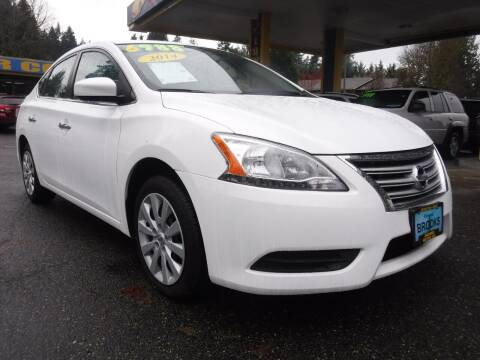 2014 Nissan Sentra for sale at Brooks Motor Company, Inc in Milwaukie OR