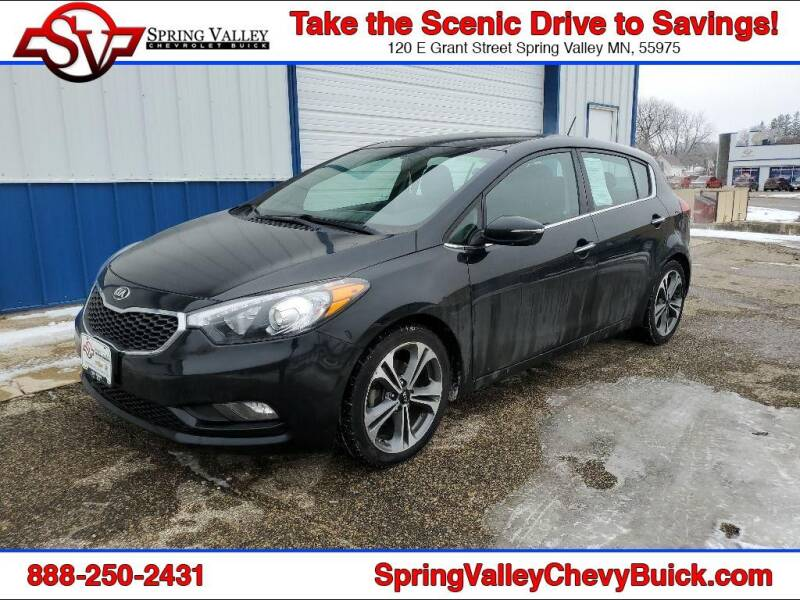 2016 Kia Forte5 for sale at Spring Valley Chevrolet Buick in Spring Valley MN