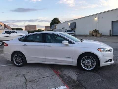 2013 Ford Fusion Hybrid for sale at Reliable Auto Sales in Plano TX