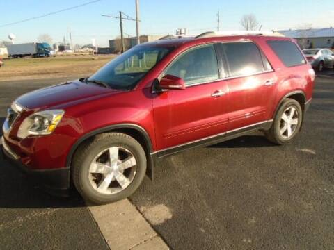 2011 GMC Acadia for sale at SWENSON MOTORS in Gaylord MN