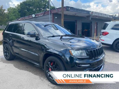 2013 Jeep Grand Cherokee for sale at Texas Luxury Auto in Houston TX
