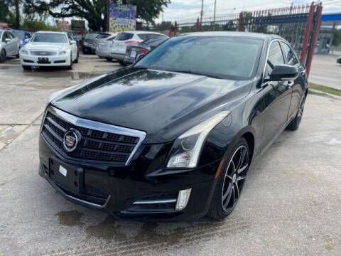 2014 Cadillac ATS for sale at Sam's Auto Sales in Houston TX