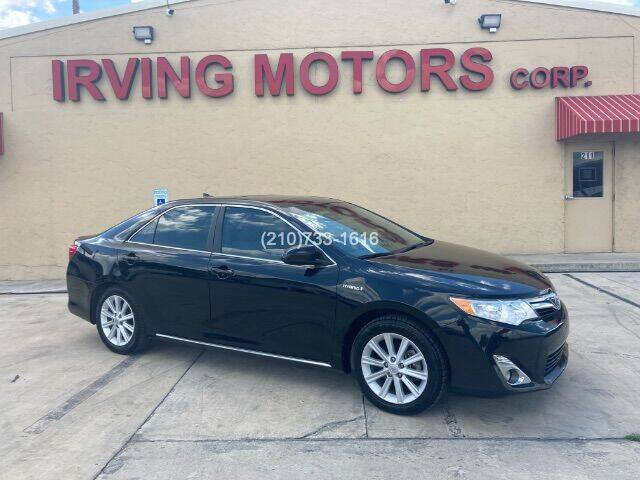 2012 Toyota Camry Hybrid for sale at Irving Motors Corp in San Antonio TX