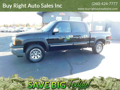 2005 Chevrolet Silverado 1500 for sale at Buy Right Auto Sales Inc in Fort Wayne IN