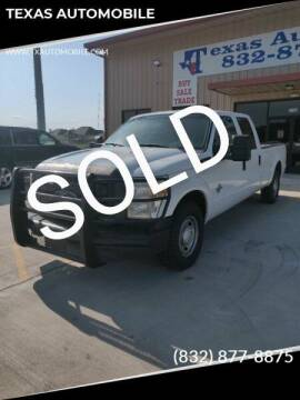2012 Ford F-350 Super Duty for sale at TEXAS AUTOMOBILE in Houston TX