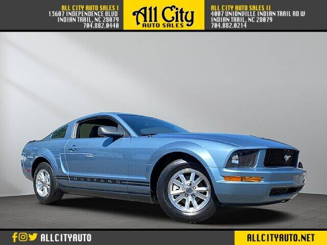 2007 Ford Mustang for sale at All City Auto Sales in Indian Trail NC