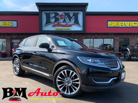 2017 Lincoln MKX for sale at B & M Auto Sales Inc. in Oak Forest IL