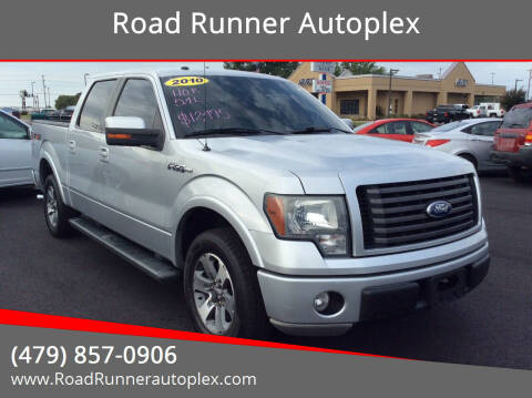 2010 Ford F-150 for sale at Road Runner Autoplex in Russellville AR