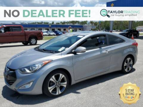 2013 Hyundai Elantra Coupe for sale at Taylor Trading in Orange Park FL